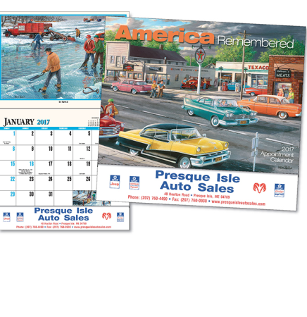 American Remembered Calendar
