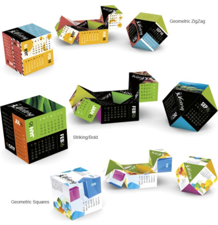 Touchpoint Diamond Cube Calendar