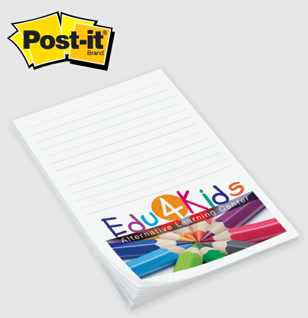 "Custom Printed Post-it® Notes (4""x6"")"