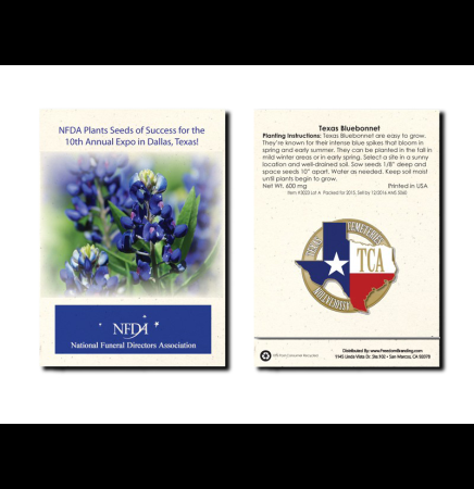 Texas Bluebonnet Seed Packet