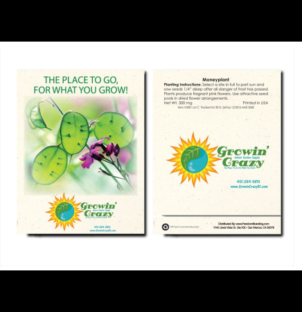 Moneyplant Seed Packet