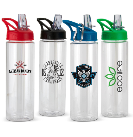 24oz. Tritan Water Bottle with Straw