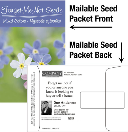 Forget-Me-Not Mailable Seed Packet