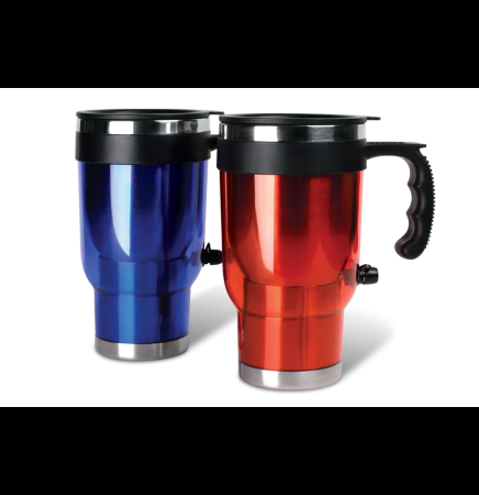 16 Oz. 12 Volt Heated Travel Mug