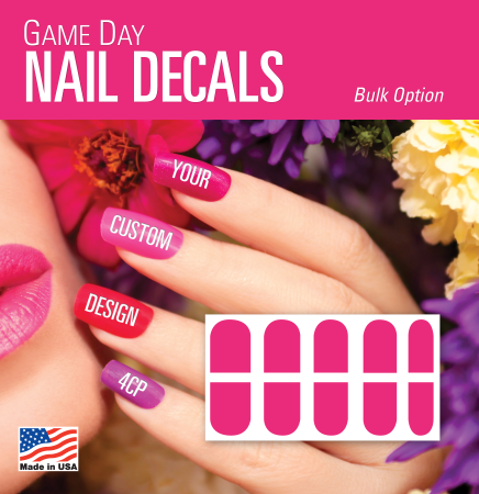 Game Day Nails in Bulk Packaging