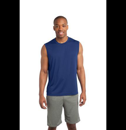 Sleeveless Competitor Tee Shirt