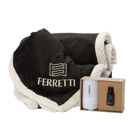 Warm and Fuzzy Gift Basket