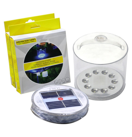 Hot Sale Inflatable LED Solar Lantern for Camping
