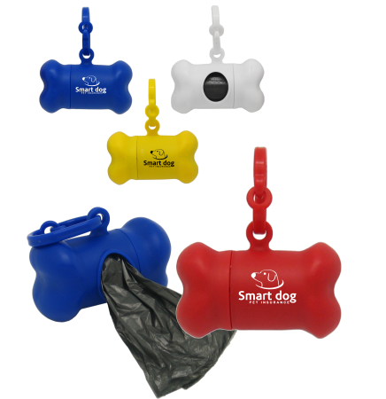Bone Shaped Dog Waste Bag Holder
