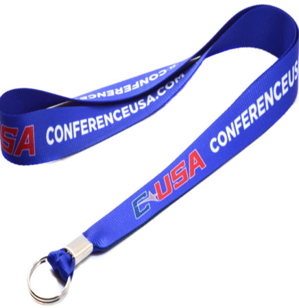 "1"" (25mm) Polyester Full Color sublimated lanyard"