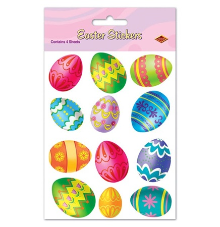 Easter Egg Stickers #50044
