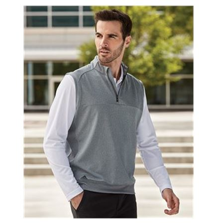 Adidas Quarter Zip Club Vest