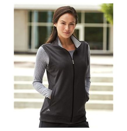 Adidas Women's Full Zip Club Vest