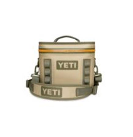 YETI® Hopper™ FLIP 8- Field Tan/ Blaze Orange