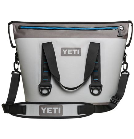 YETI® Hopper™ TWO 30- Fog Gray/ Tahoe Blue