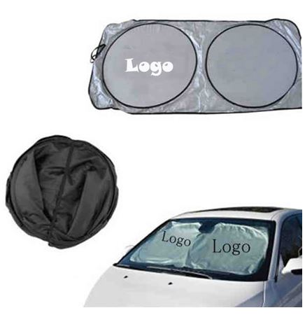 Polyester Folding Auto Sunshade
