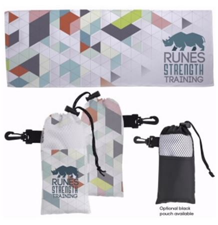 Universal Source™ - 4 Color Cooling Towel in Pouch