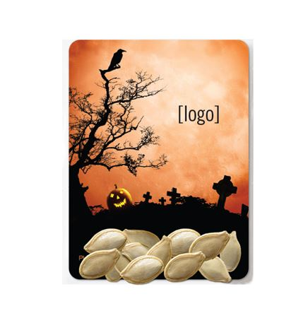 Halloween Pumpkin Seed Packet