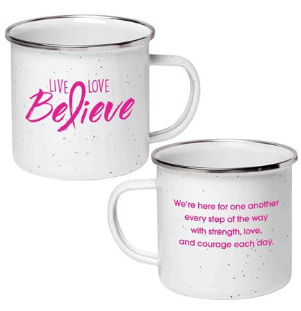 Love, Love, Believe Campfire Mug 17-Oz.
