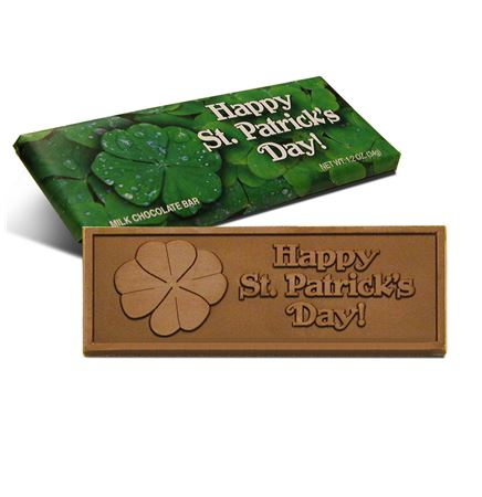 St Patrick's Day Chocolate Bar