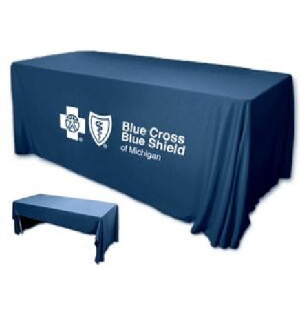 3-Sided 8' Table Cover