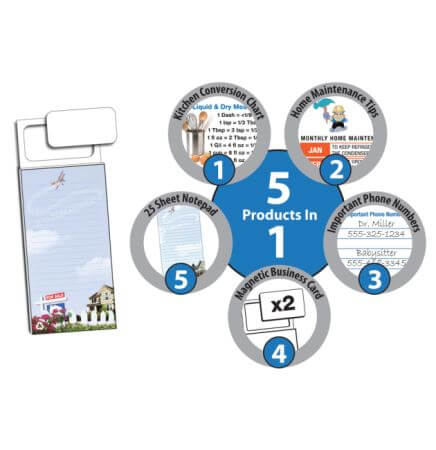 Real Estate Magnetic Notepad