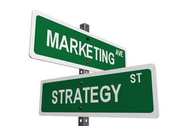 The corner of marketing and strategy